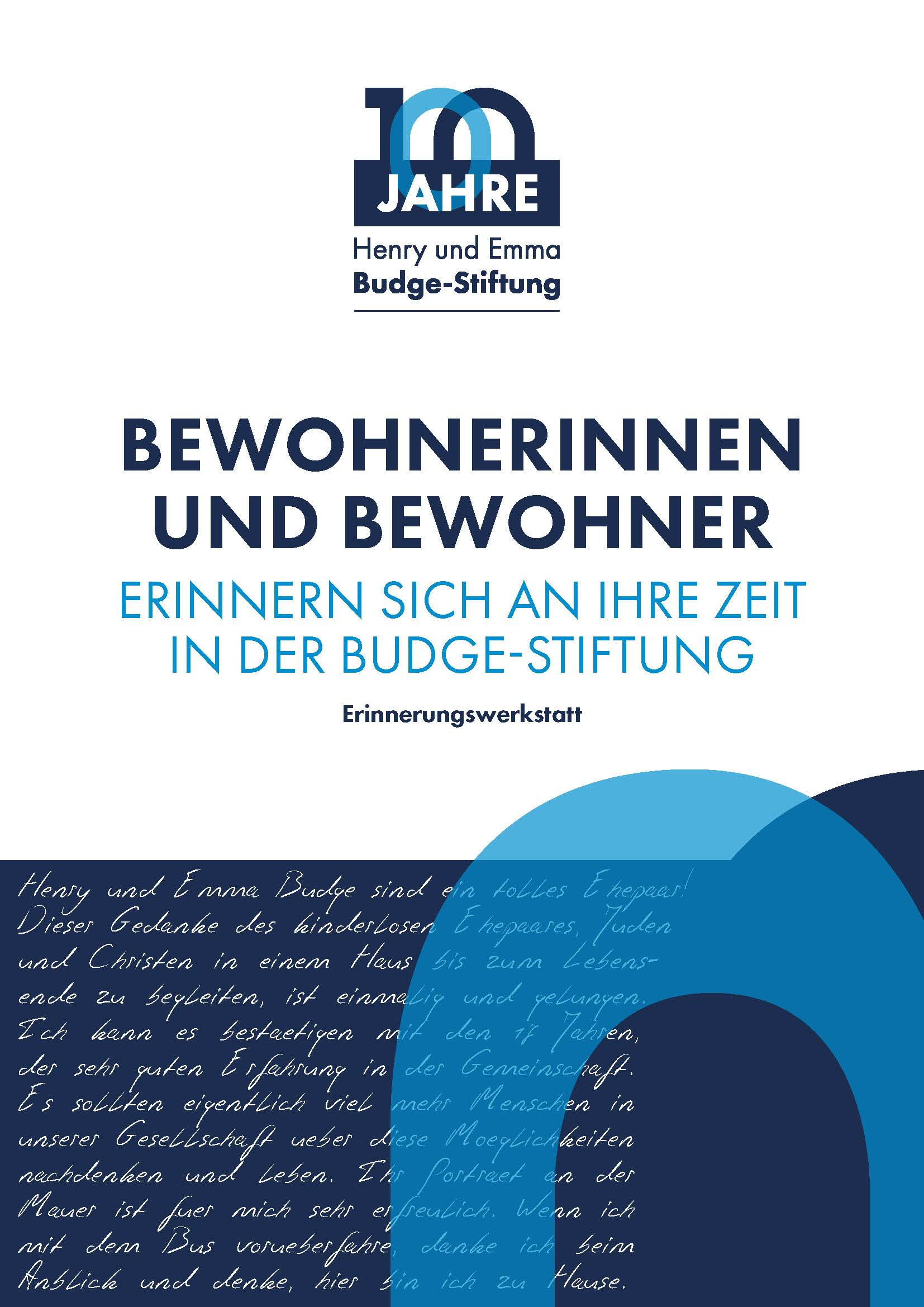 100 Jahre Budge Stiftung Cover
